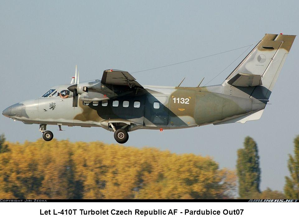 Let L-410T Turbolet Czech Republic AF - Pardubice Out07