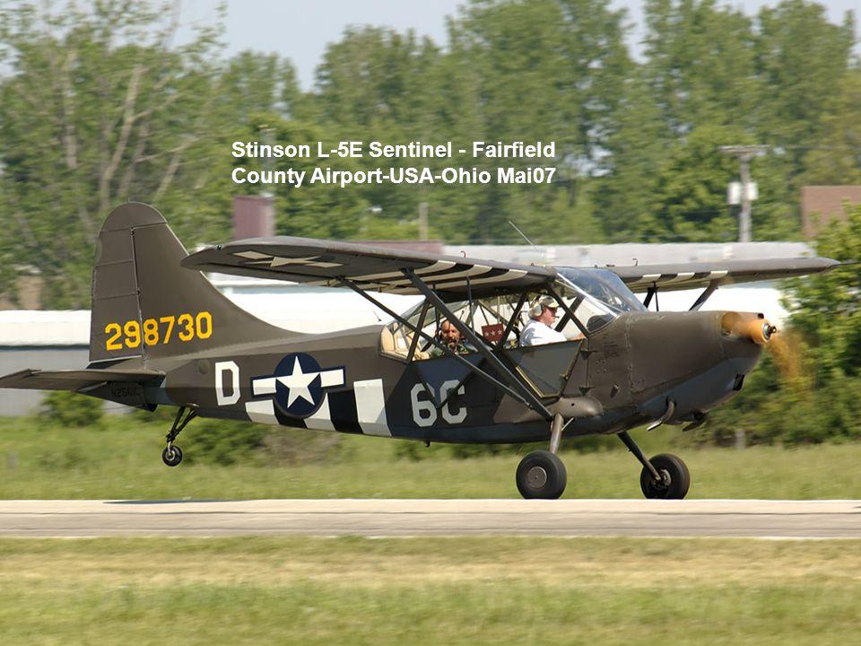 Stinson L-5E Sentinel - Fairfield County Airport-USA-Ohio Mai07