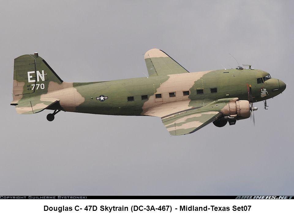 Douglas C- 47D Skytrain (DC-3A-467) - Midland-Texas Set07