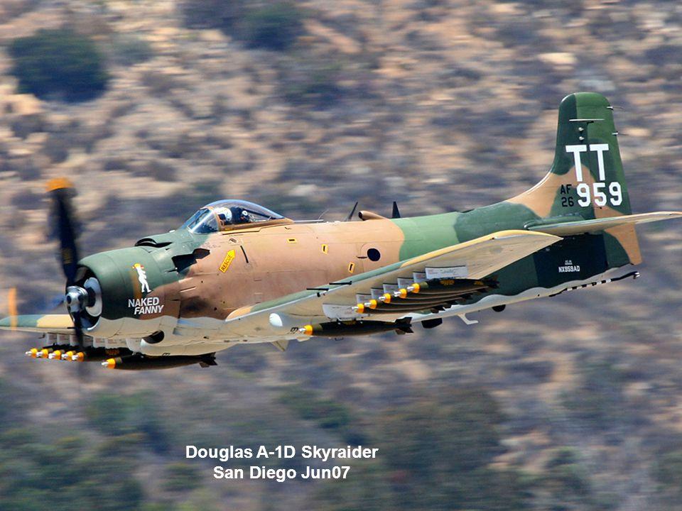 Douglas A-1D Skyraider San Diego Jun07
