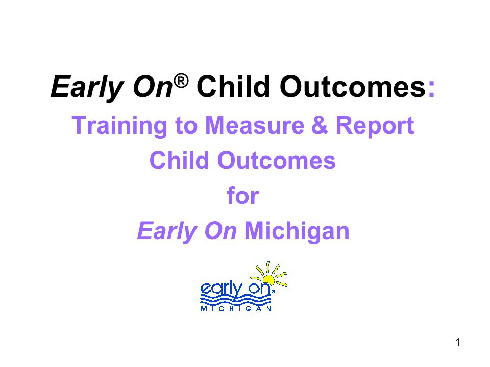 12 What are the early childhood outcomes.