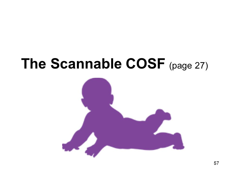 57 The Scannable COSF (page 27)