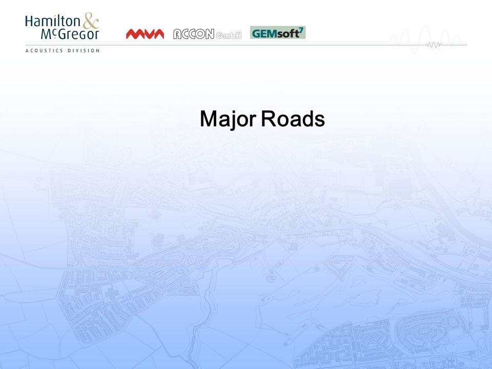 Major Roads