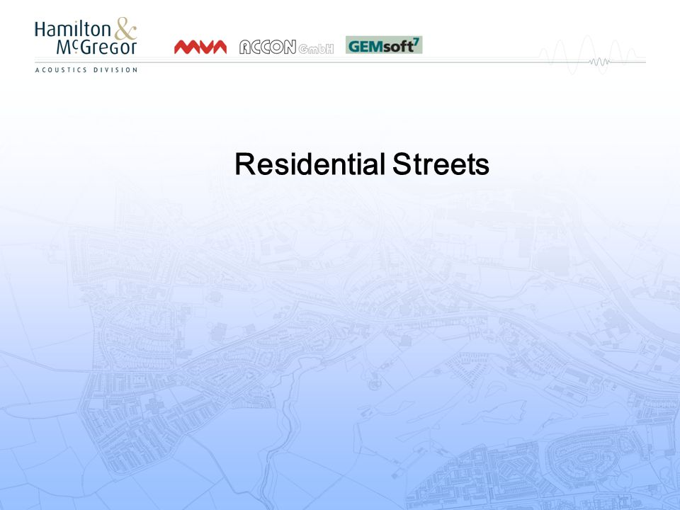 Residential Streets