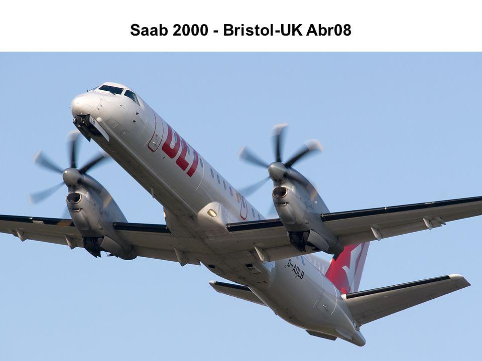 Saab 2000 - Bristol-UK Abr08
