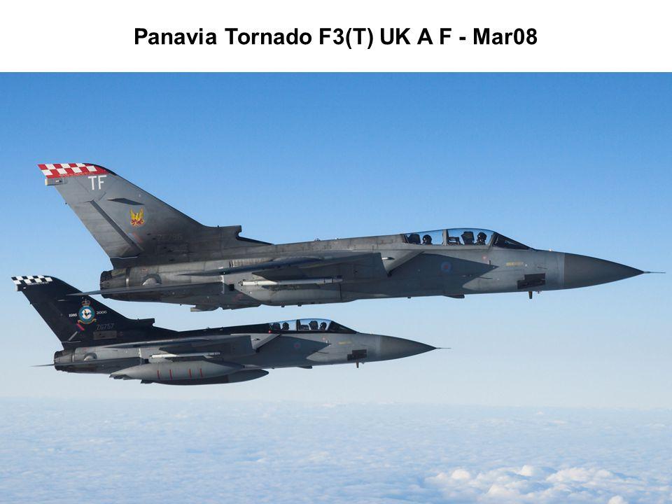 Panavia Tornado F3(T) UK A F - Mar08