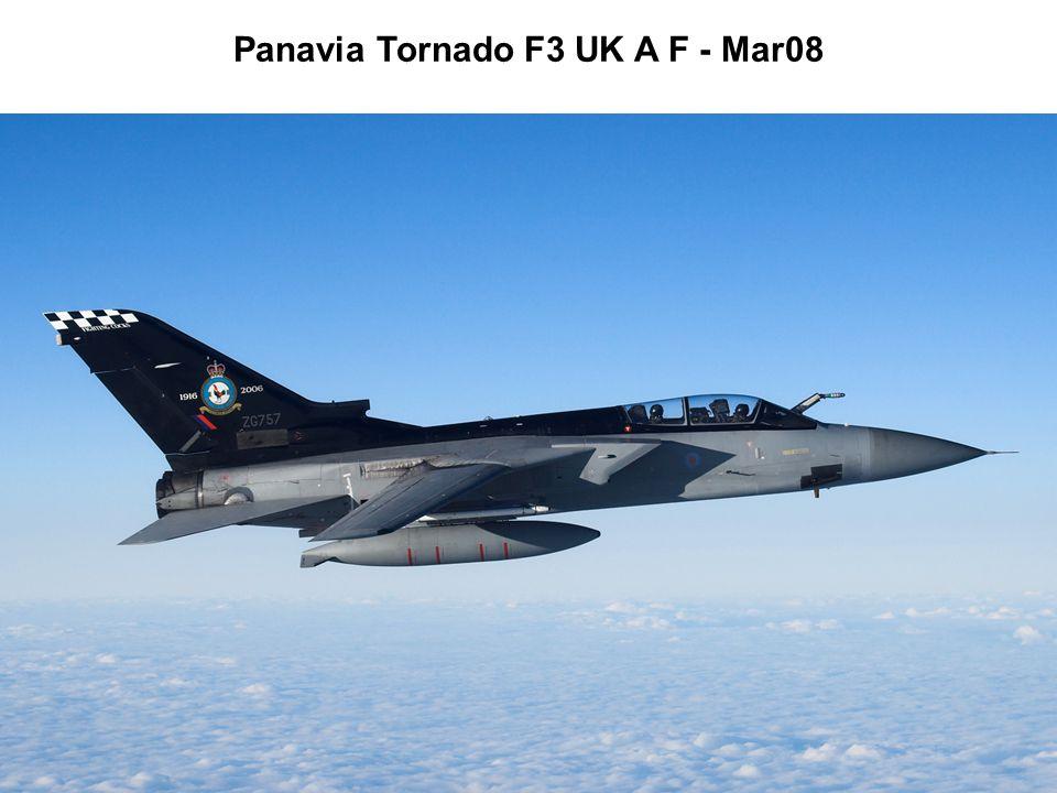Panavia Tornado F3 UK A F - Mar08