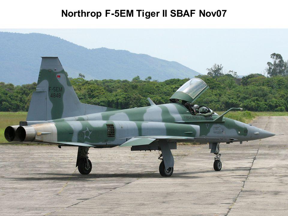 Northrop F-5EM Tiger II SBAF Nov07