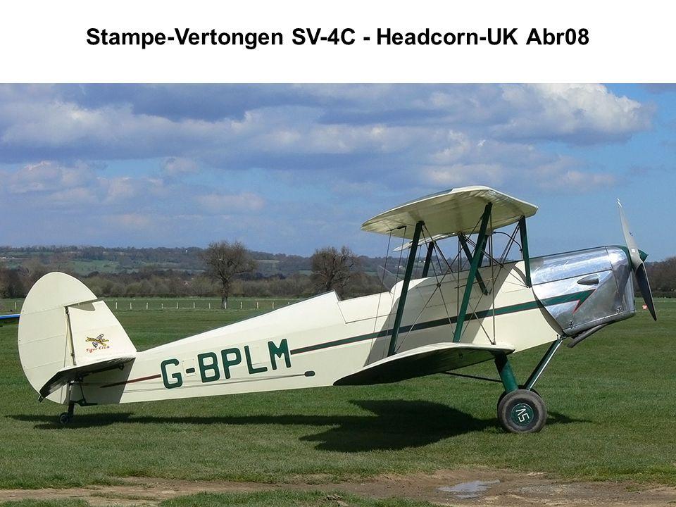 Stampe-Vertongen SV-4C - Headcorn-UK Abr08