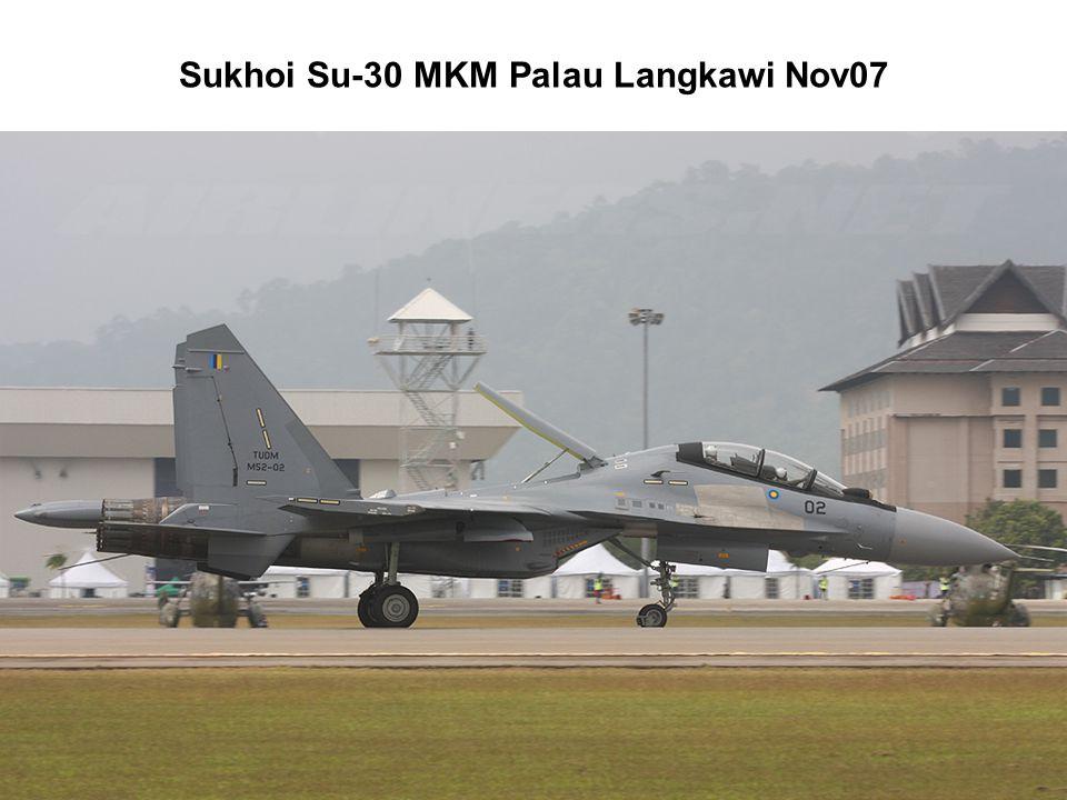 Sukhoi Su-30 MKM Palau Langkawi Nov07