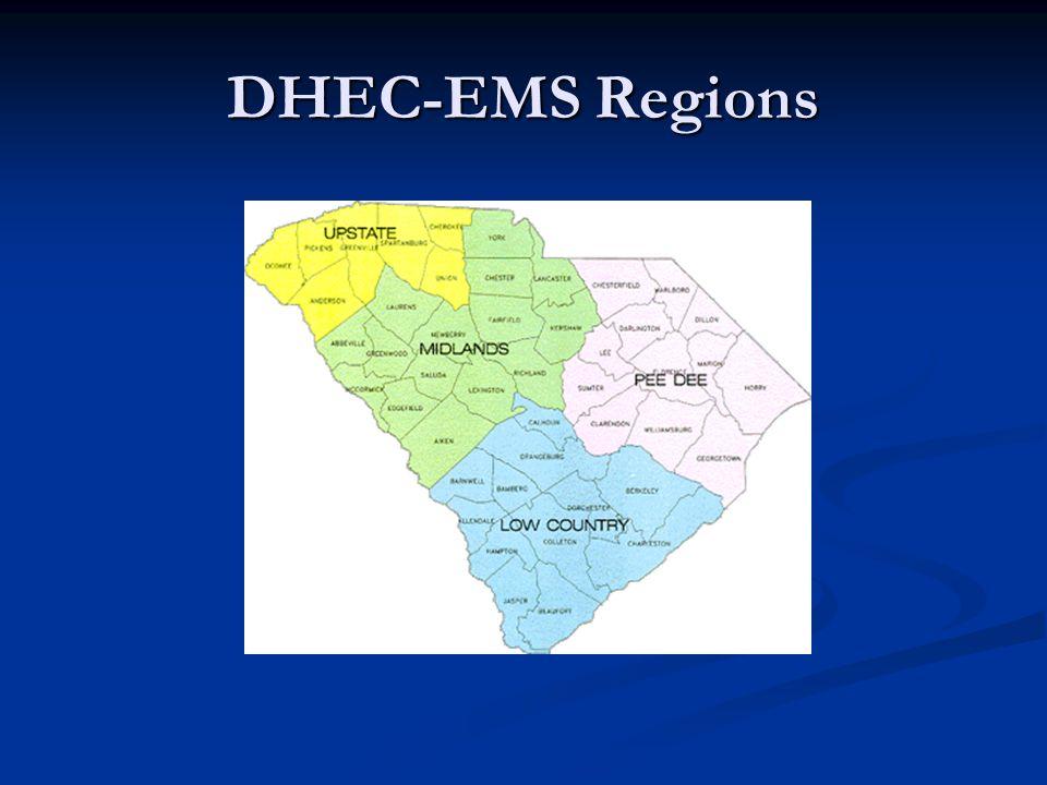 DHEC-EMS Regions