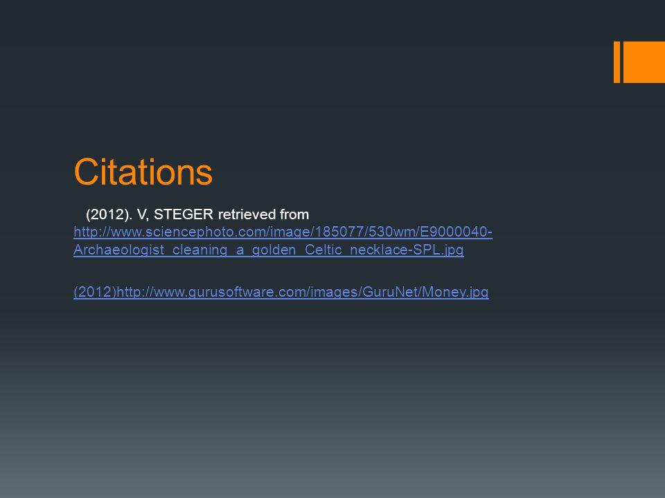 Citations (2012).