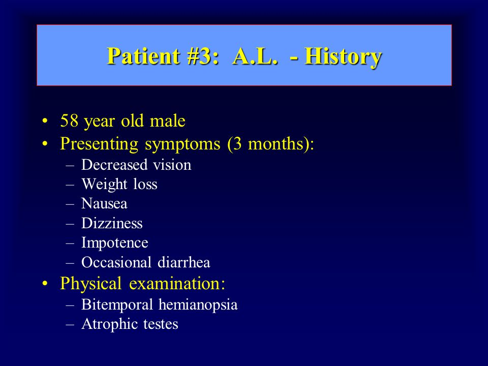 Patient #3: A.L.