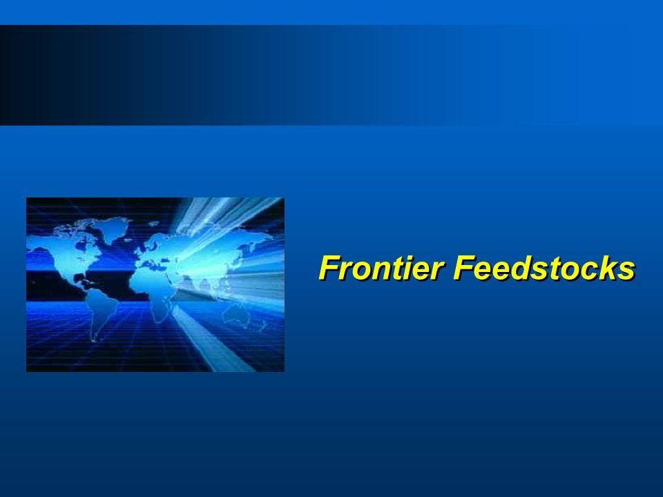 Frontier Feedstocks