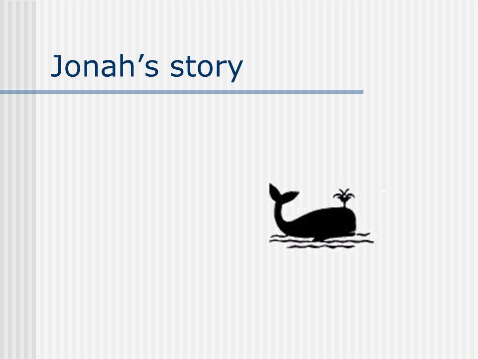 Jonah's story