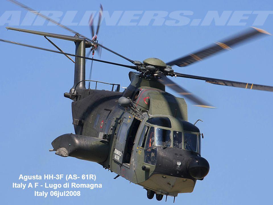 Agusta HH-3F (AS- 61R) Italy A F - Lugo di Romagna Italy 06jul2008