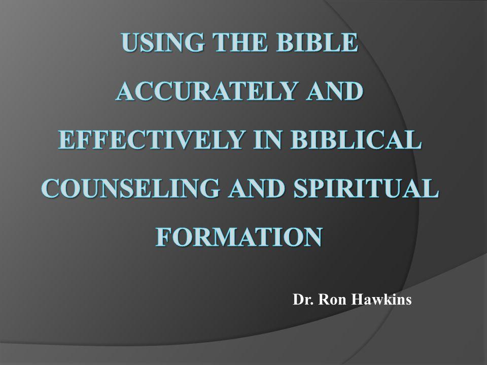 Dr. Ron Hawkins