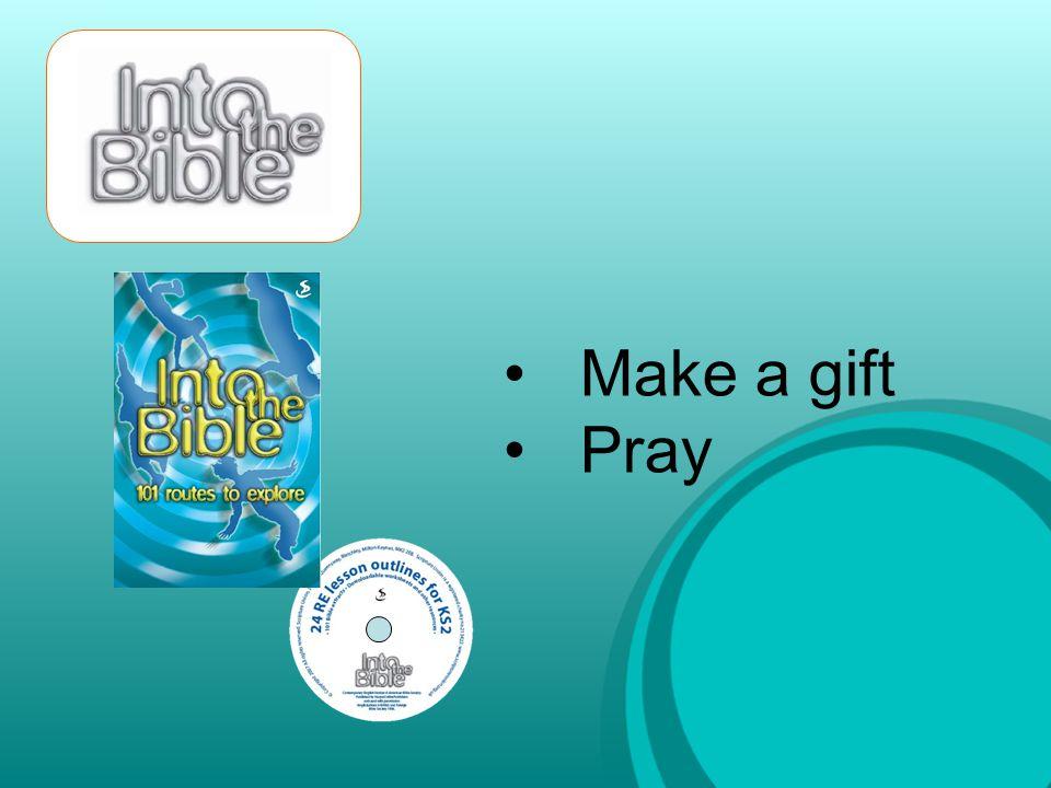 Make a gift Pray