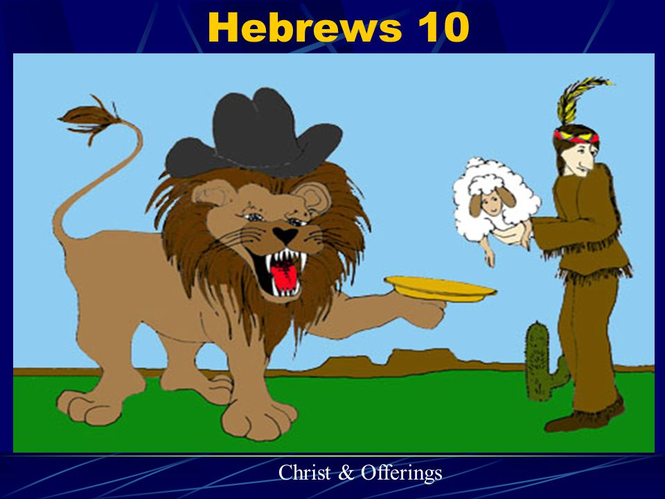 Hebrews 10 Christ & Offerings