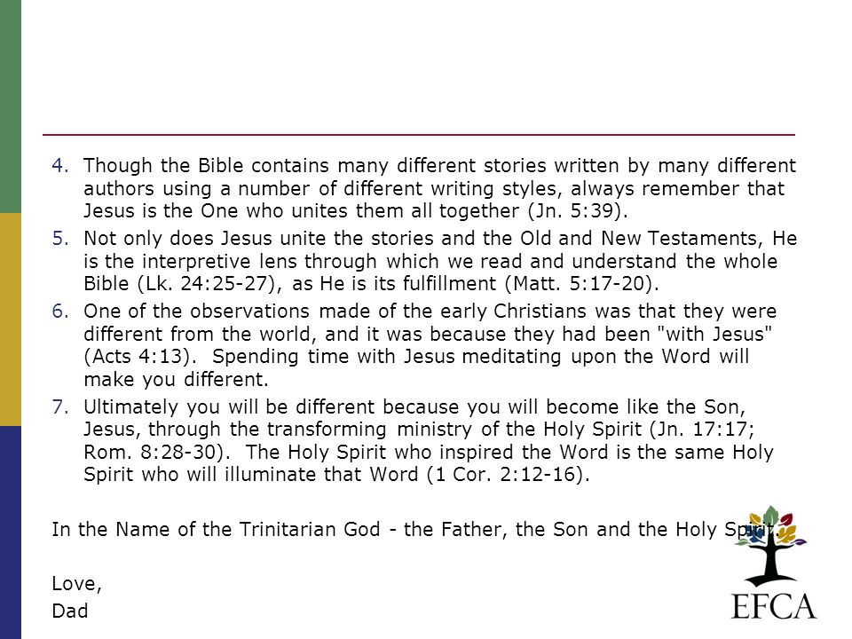 Faithful interpretation requires that one know the kind of writing the author is using to convey his/His message.
