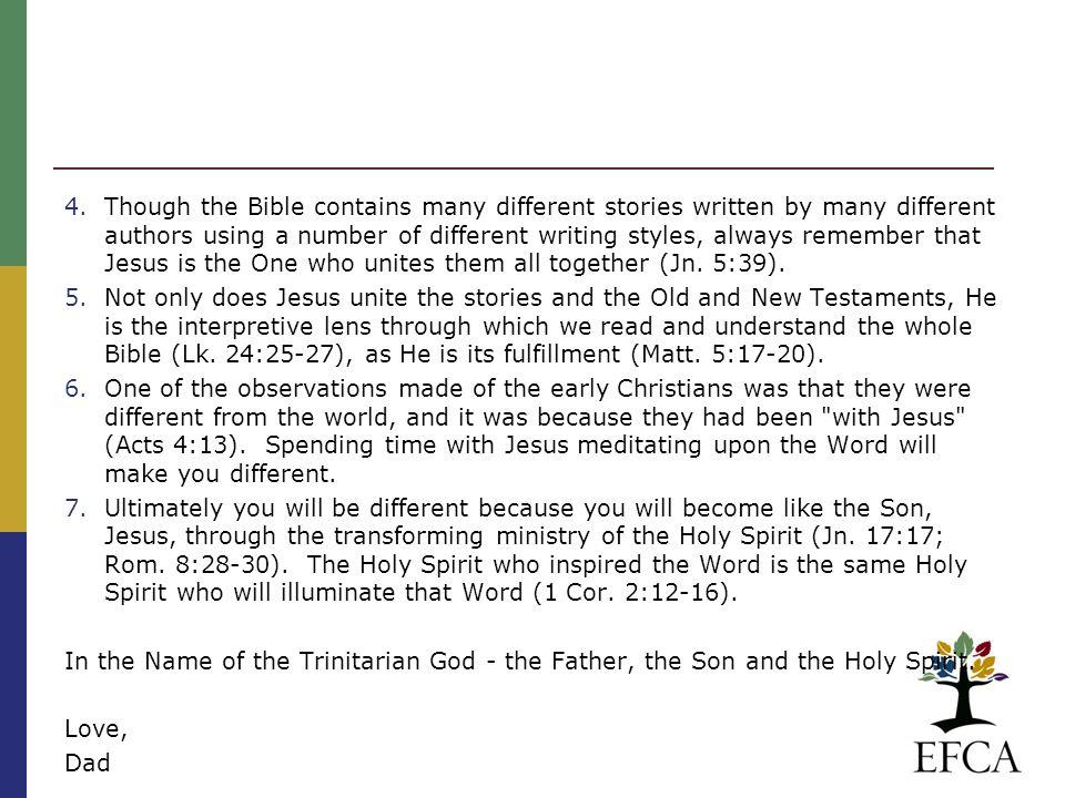 THE CHICAGO STATEMENT ON BIBLICAL INERRANCY 1978