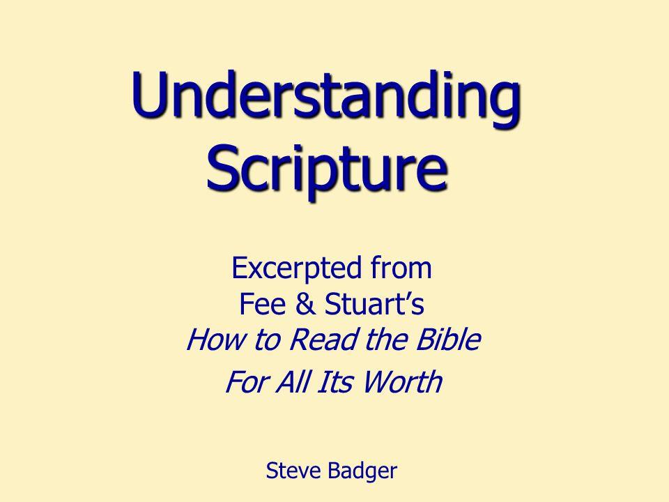 Fee & Stuart distinguish between these two terms: Exegesis and Hermeneutics Terminology