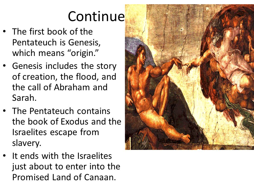 The Historical Books The Historical Books start with the Israelites coming into Canaan.