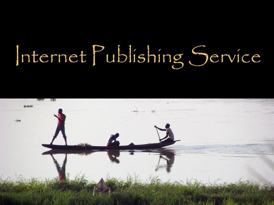 Internet Publishing Service