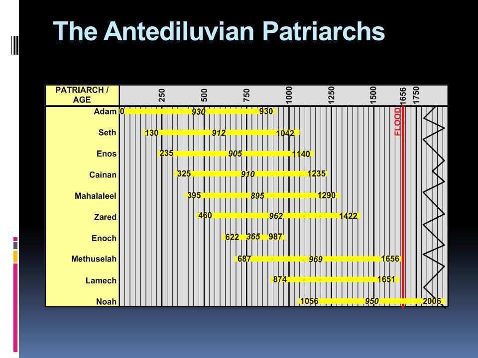 The Antediluvian Patriarchs