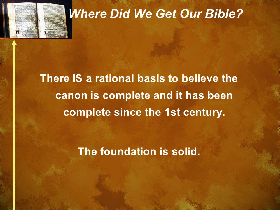 Where Did We Get Our Bible.