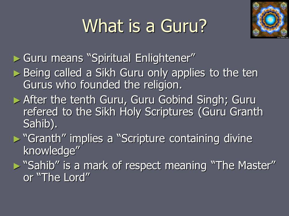 What is a Guru.
