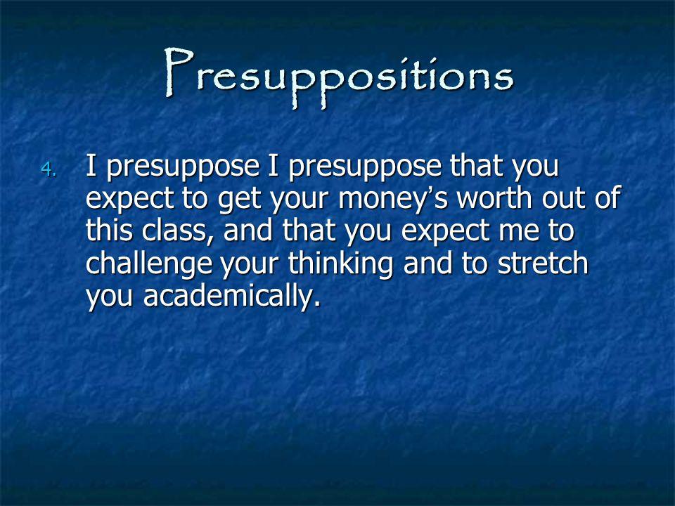 Biblical Interpretation Barriers to the interpretive process: 7.