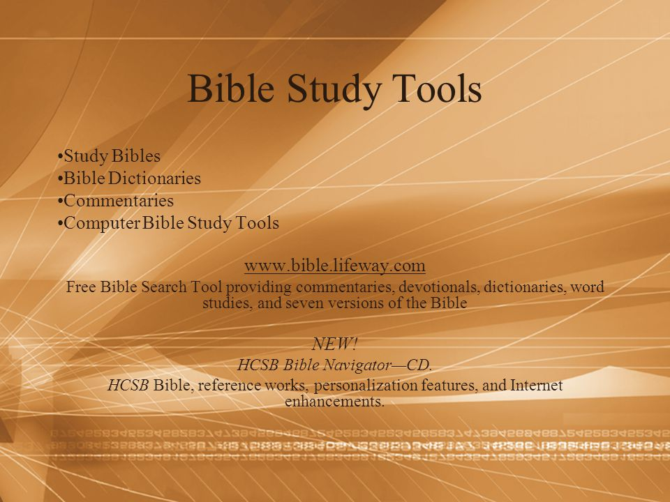 Bible Study Tools Study Bibles Bible Dictionaries Commentaries Computer Bible Study Tools www.bible.lifeway.com Free Bible Search Tool providing comme
