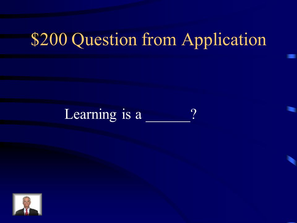 $100 Answer from Application What is doing