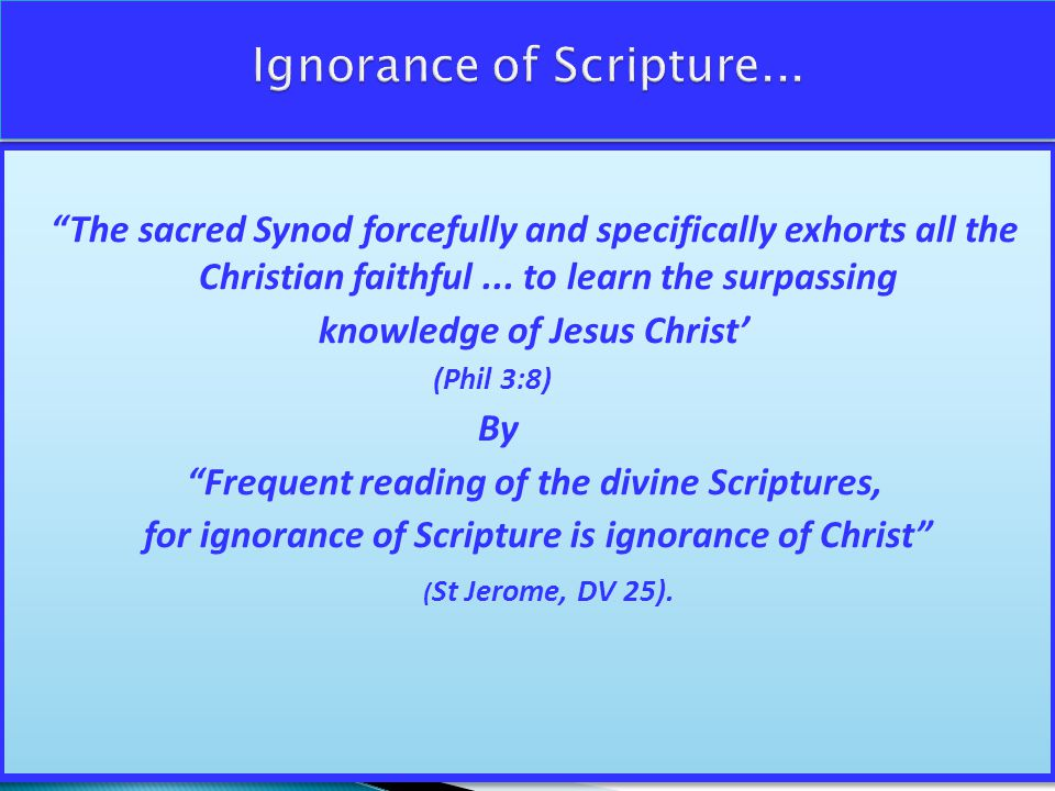 The sacred Synod forcefully and specifically exhorts all the Christian faithful...