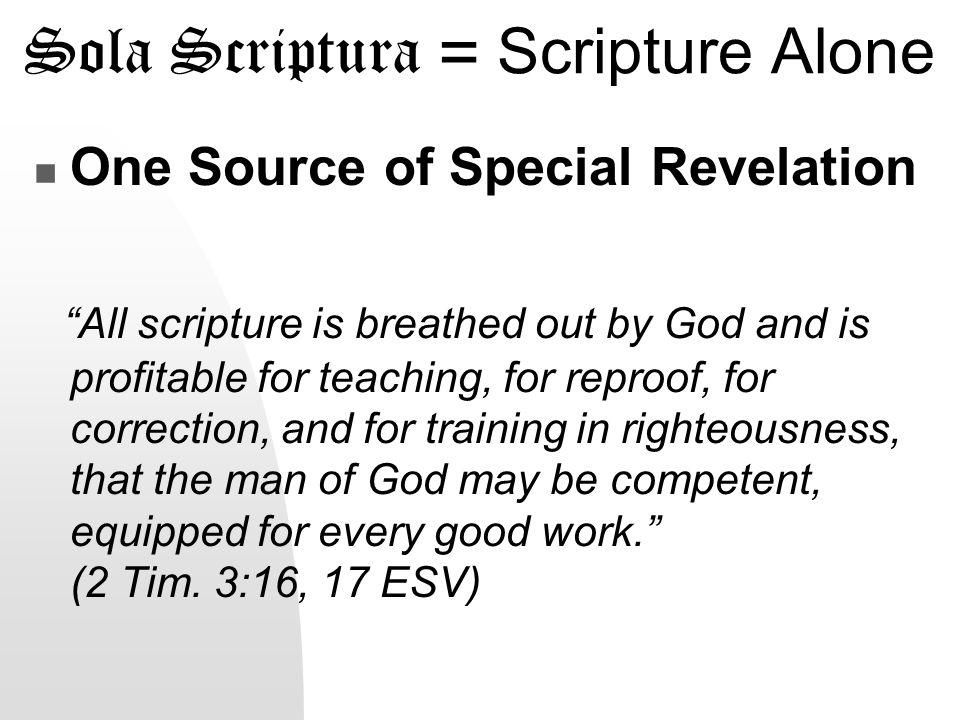 Sola Fide = Faith Alone FAITH means believing the promise of God....