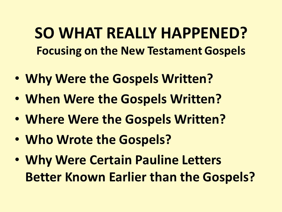 an analysis of the forth gospel in the christian new testament written by john Christianity the bible new testament was john's gospel wade through john 5:2 and the date of the fourth gospel was john's gospel written by the.