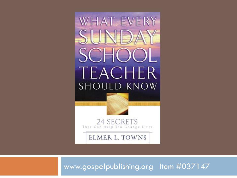 www.gospelpublishing.org Item #037147