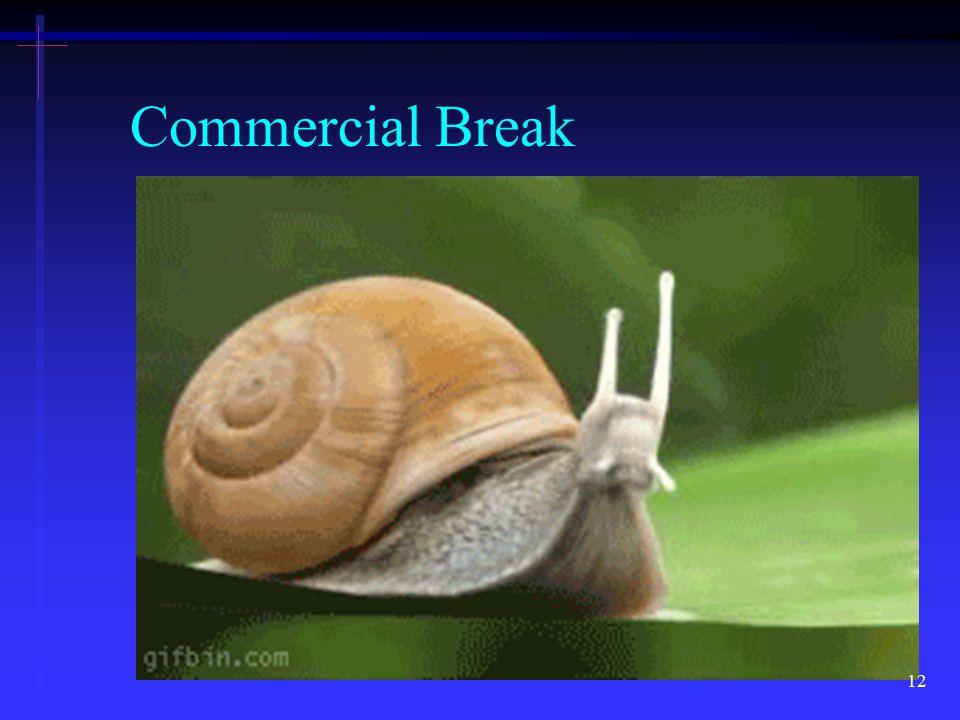 Commercial Break 12