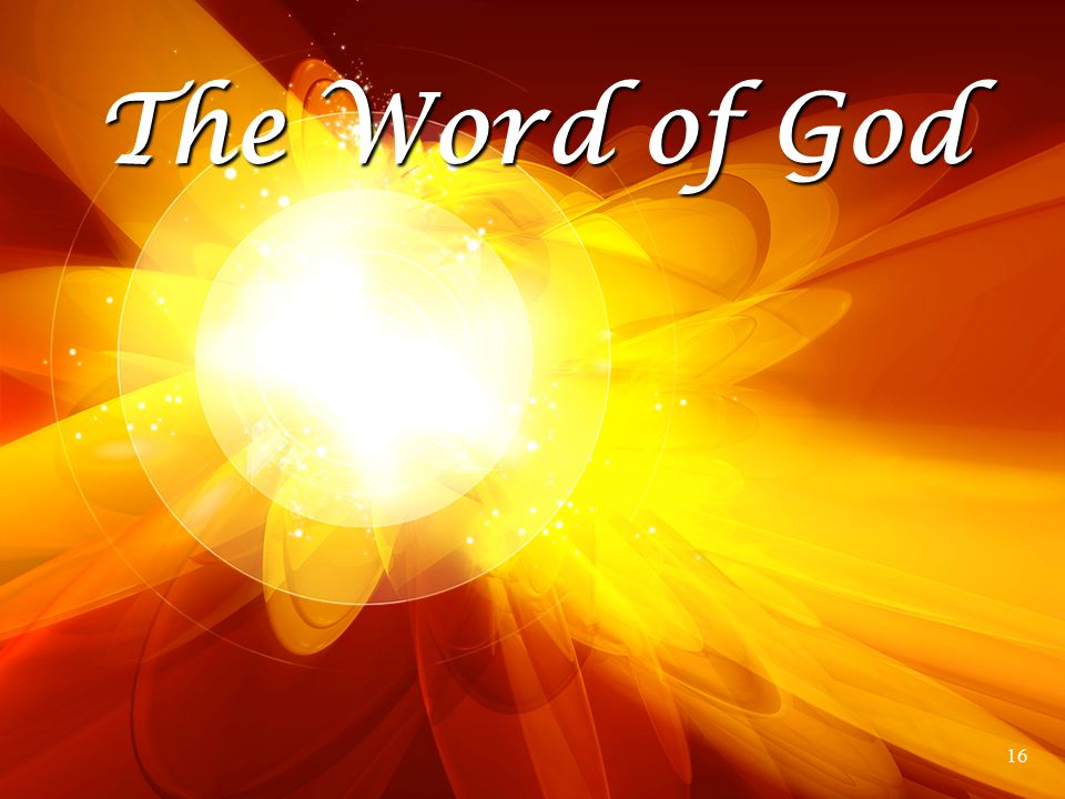 The Word of God 16