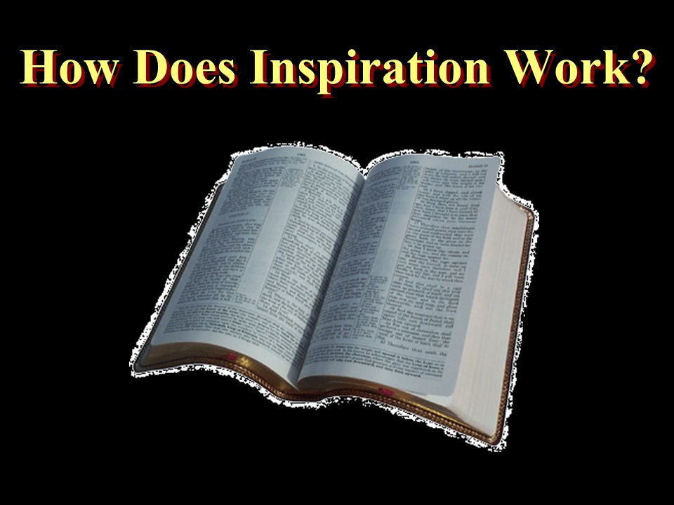 How Does Inspiration Work