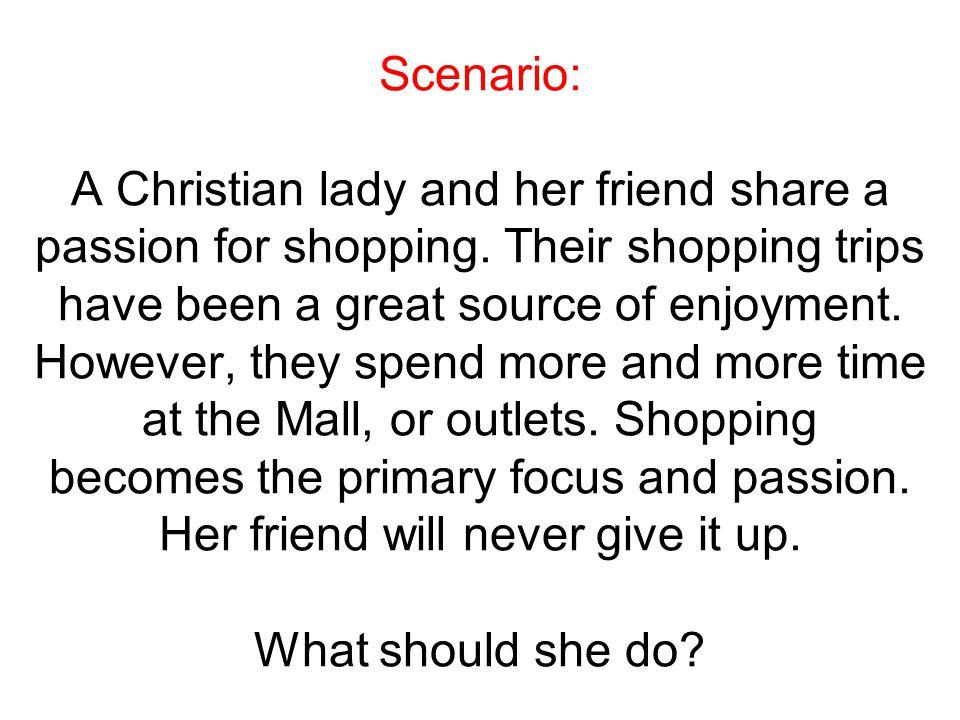 Scenario: Two women are good friends.