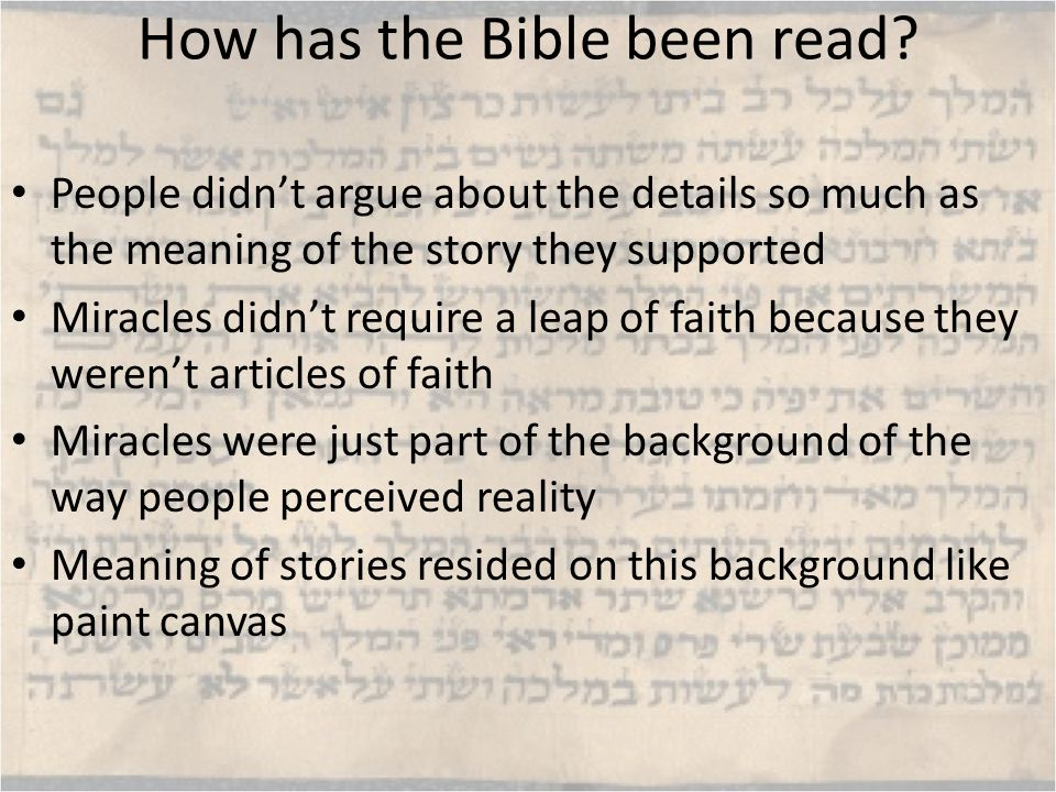 Notes on Old Testament Exodus Motif reverberates throughout OT (and NT).