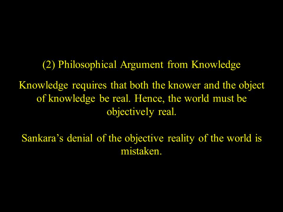 Madhva's Critique of Ramanuja (1) If the world is a part of God, then the defects of the world would belong to God Himself.