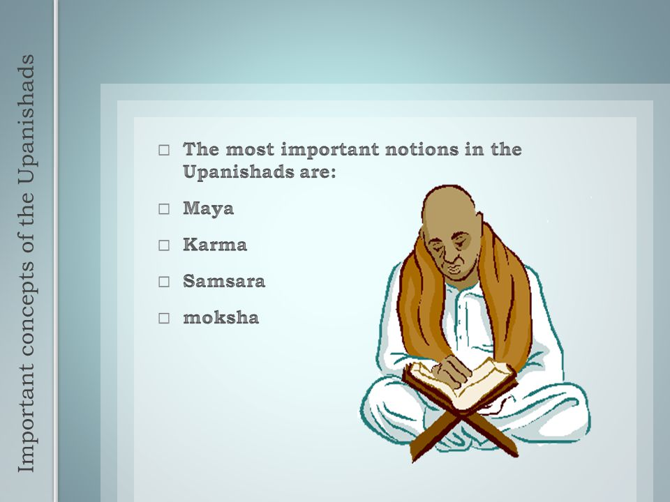 Important concepts of the Upanishads