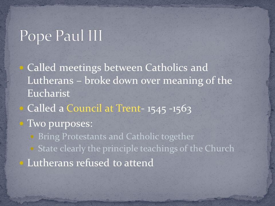Catholic Counter-Reformation Or Catholic Reformation Or Counter Reformation