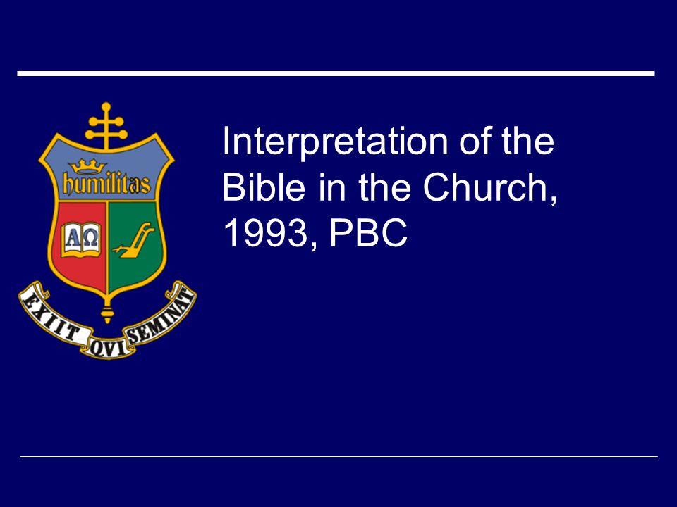Dei Verbum  Scripture  Tradition  Magisterium