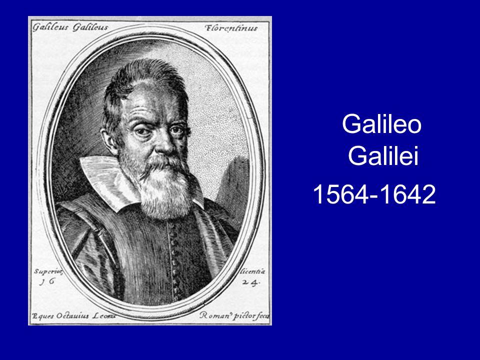 Galileo Galilei 1564-1642