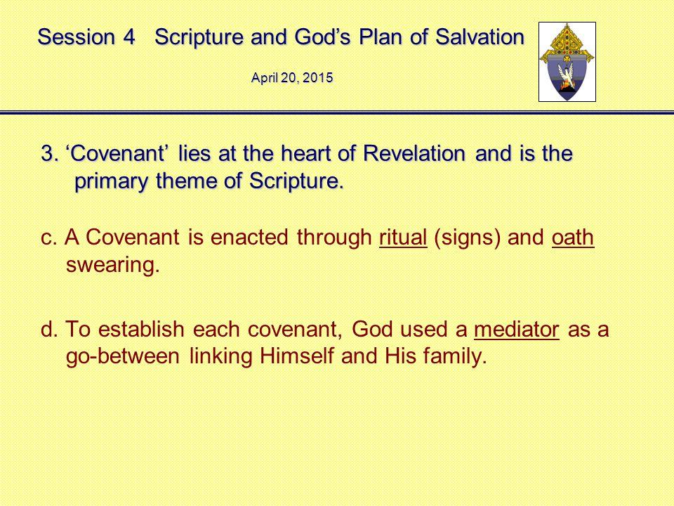 Session 4 Scripture and God's Plan of Salvation April 20, 2015April 20, 2015April 20, 2015 3.