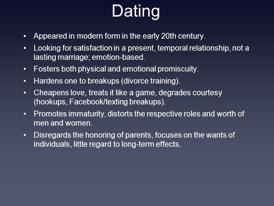 Dating Appeared in modern form in the early 20th century.